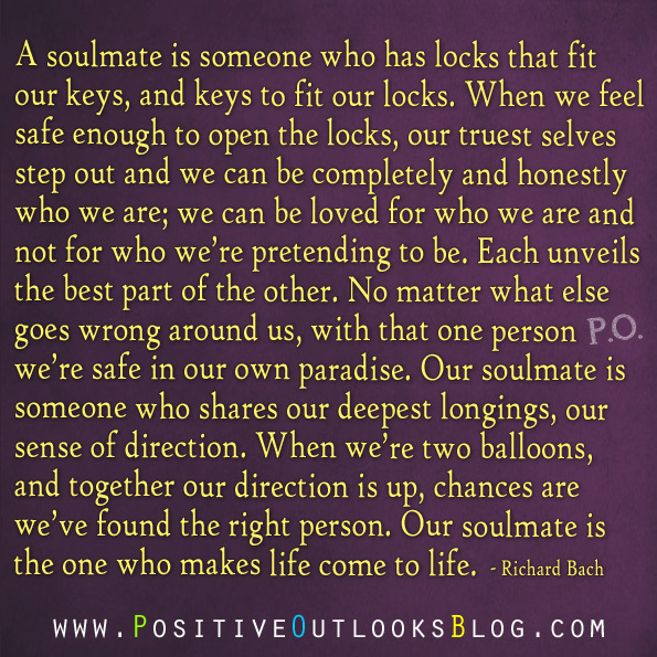 Soulmates Love Quotes About Life: Life Is A Journey And A Blessing